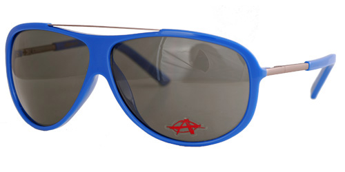Altercate blue shades with smoky lenses