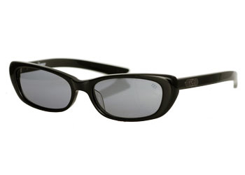 Grey shades with black frames