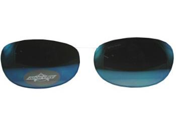 Blue ballistic lenses