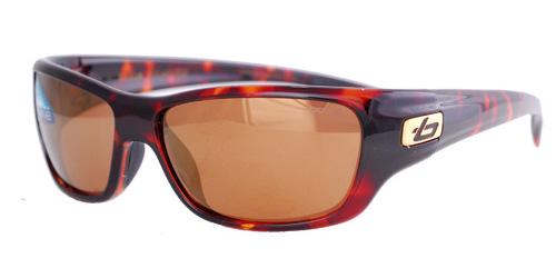 Brown framed square lenses