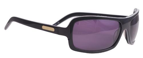 Purple shaded sunglasses