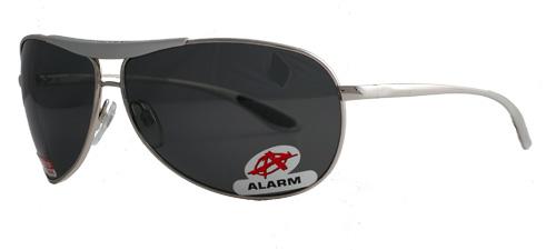 Alarm smoky gray polarized shades