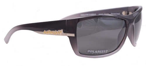 Faded grey shades with smoky polarized lenses