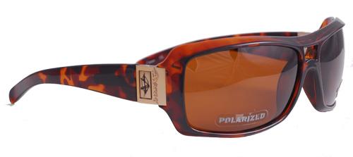 Brown polarized shades