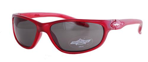 Burgundy shades with smoky lenses