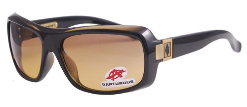 Olive black sunglasses