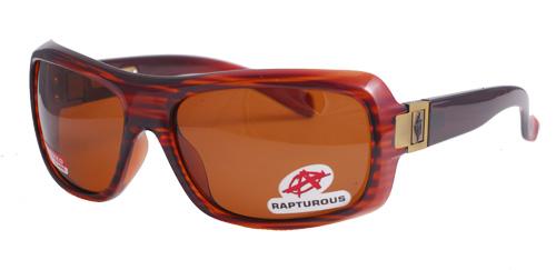 Brown striped sunglasses