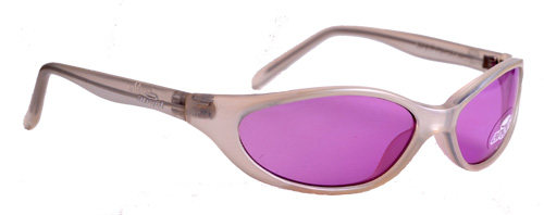 Sapphire pearl pink framed lavender shades
