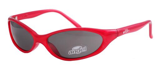 Red framed smoked lenses